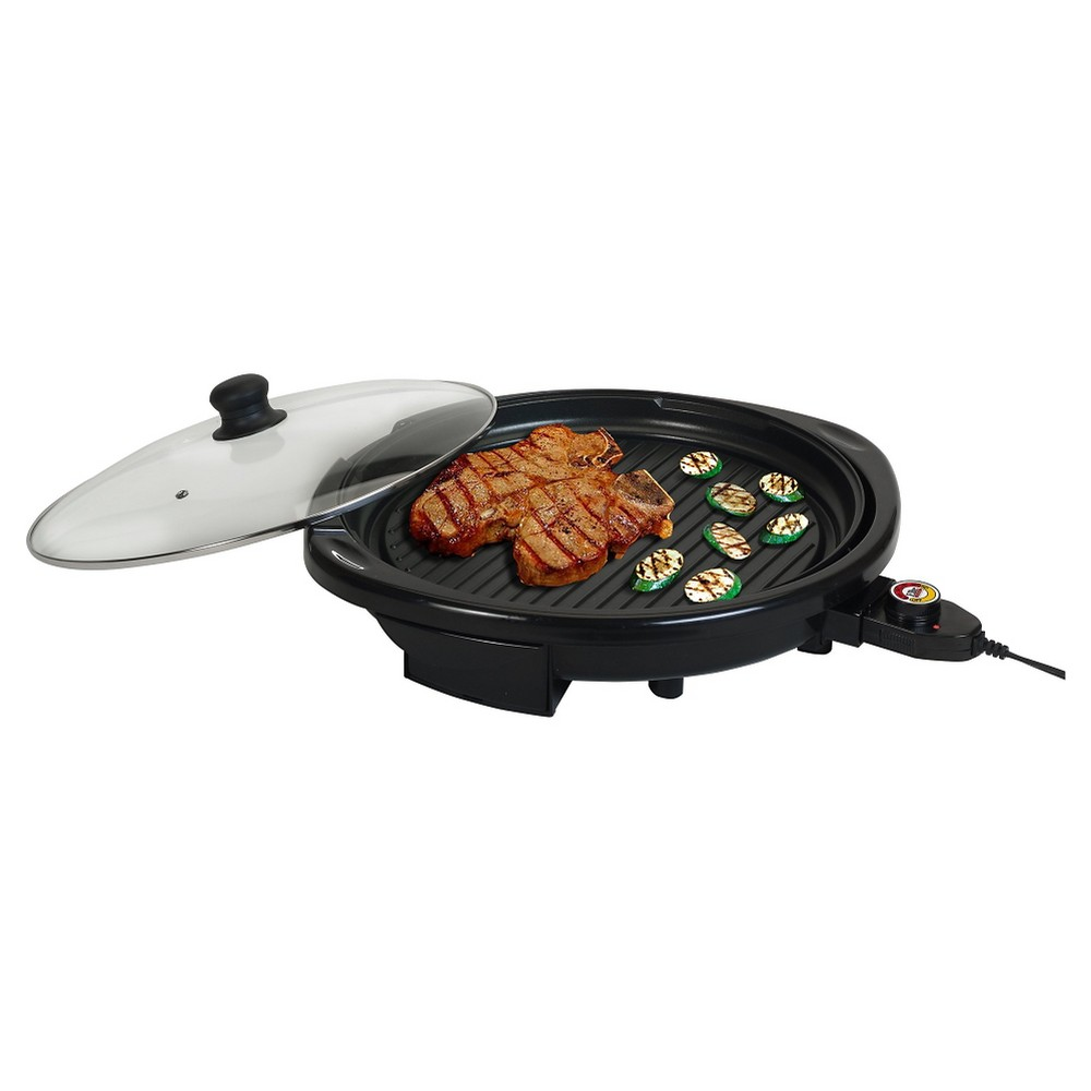 Elite Gourmet 14Electric Indoor Grill – Black 47850830