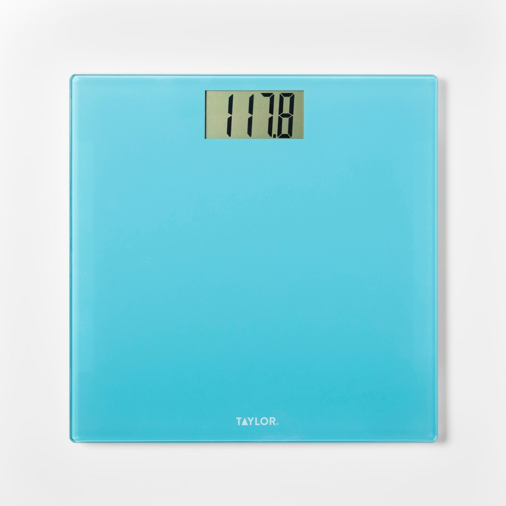 Glass Personal Scale Blue - Taylor