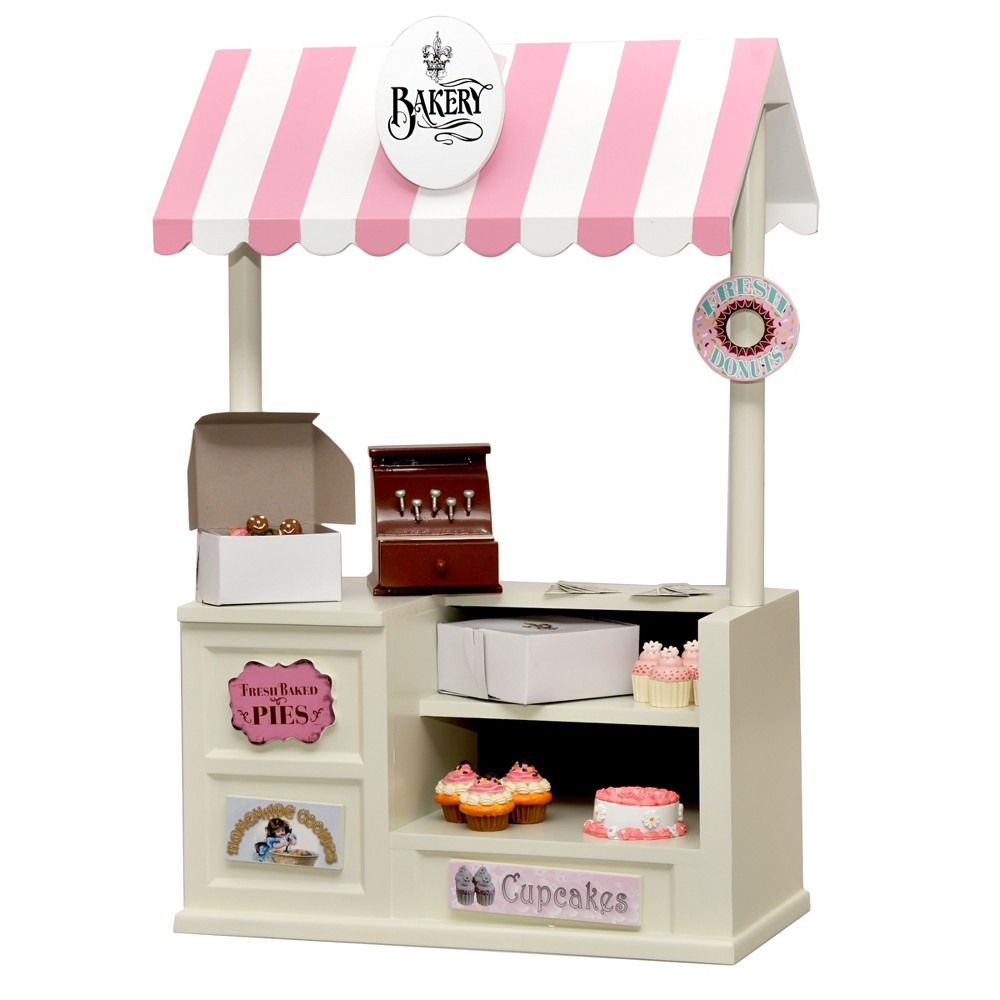 The Queen's Treasures Doll Complete Bakery Shop