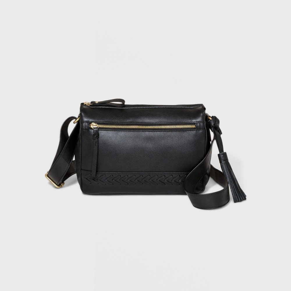 Image of Great American Leather Hobo Handbag - Black, Women's, Size: Medium