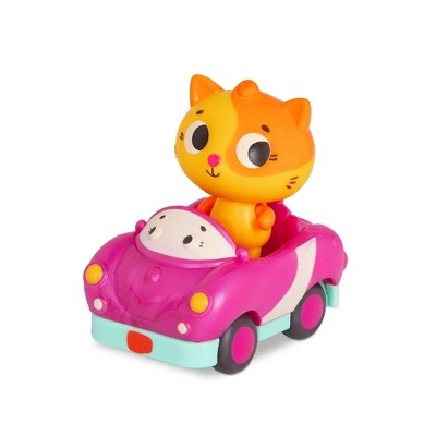 Land of B. Light-Up Toy Cat & Car - Lolo & Smarty Pants