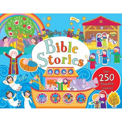 Never-Ending Sticker Fun: Bible Stories - (Spiral_bound) - image 1 of 1