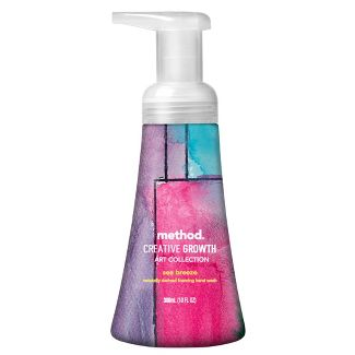 method Creative Growth Art Collection Sea Breeze Foaming Hand Wash - 10 fl oz