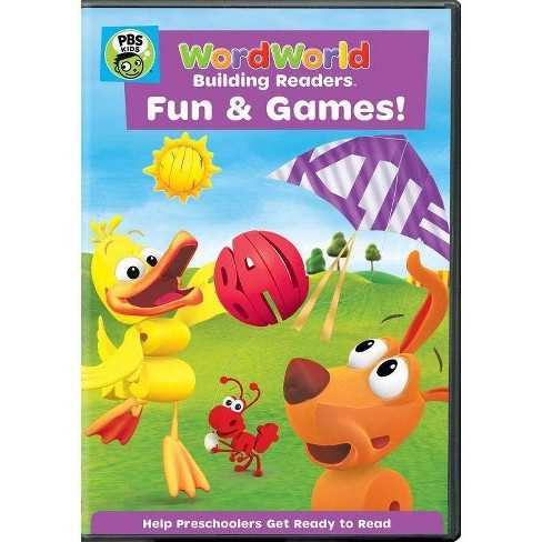 Wordworld: Fun and Games (DVD) - image 1 of 1