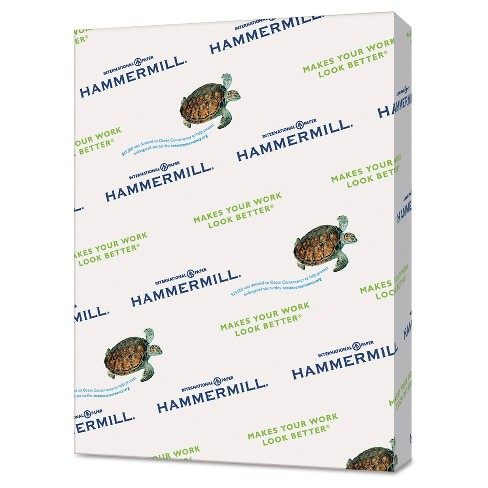 "Hammermill® Recycled Paper, 8.5"" x 11"", 500 ct - image 1 of 1"