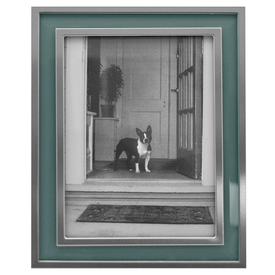 5  x 7  Aspen Metal Frame with Bevel Glass Silver - Threshold™