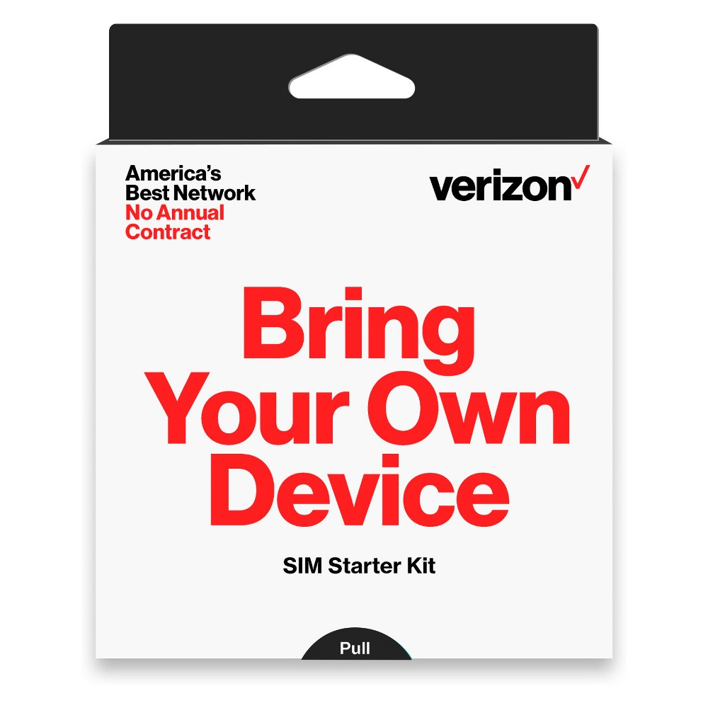 Verizon Sim Card Kit, Black Get ready to power your cell phones with Verizon Sim Card Kit. This sim card is compatible with Samsung Cell Phones, Android Phones, LG Phones and most mobile phones. Awesome network is now possible with Verizon. Color: Black.