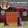 ECR4Kids Jumbo Four-To-Score Giant Game-Indoor/Outdoor 4-In-A-Row Connect - Orange and Purple - image 4 of 4
