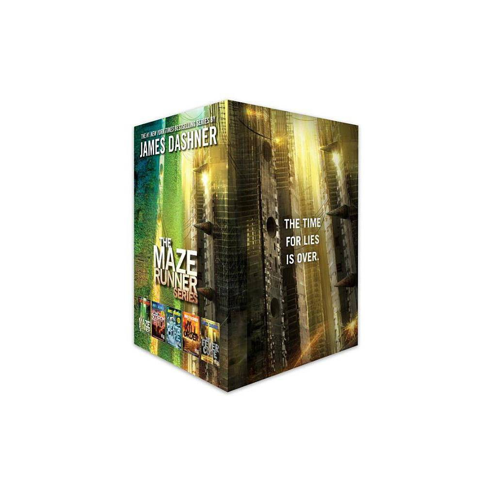 The Maze Runner Series Complete Collection Boxed Set 5 Book By James Dashner Mixed Media Product