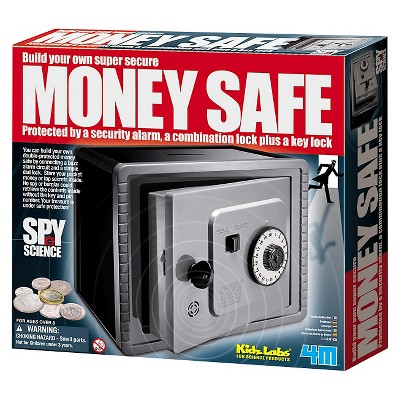 4M Spy Science Build Your Own Money Safe Kit
