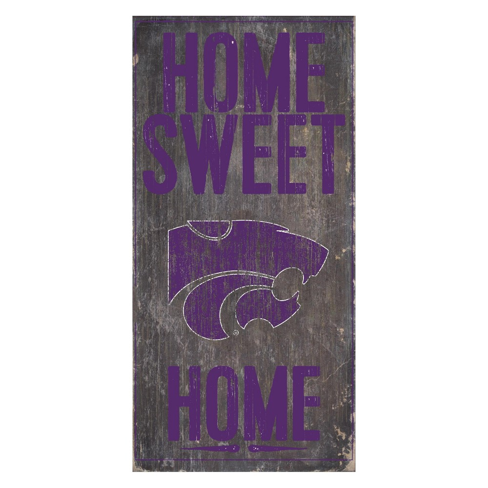Kansas State Wildcats Home Sweet Home Sign