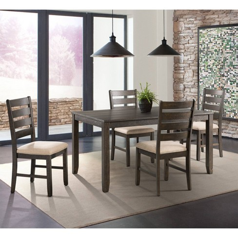 Powell Dining Set Table Six Chairs 7pc Picket House Furnishings