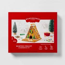 Holiday Gingerbread Winter Chalet Kit - 32oz - Wondershop™