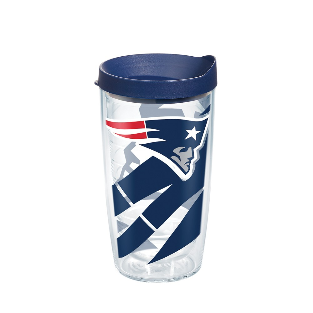 Tervis NFL New England Patriots Genuine 16oz Tumbler with lid