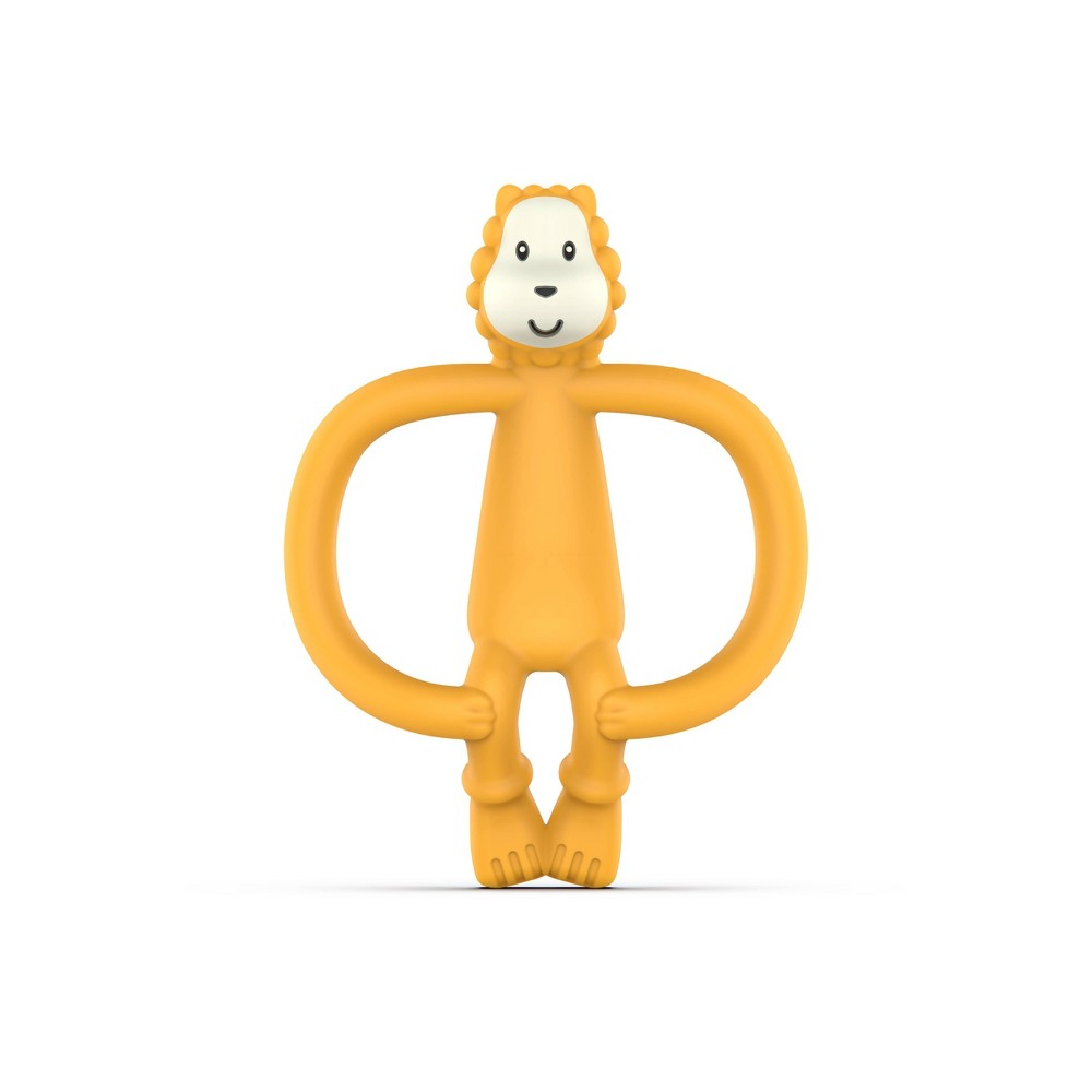 Image of Matchstick Monkey Teething Toy With BioCote Antimicrobial Technology - Lion