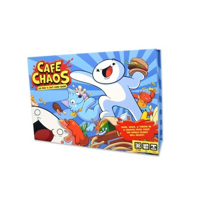 Cafe Chaos An Odd 1s Out Card Game