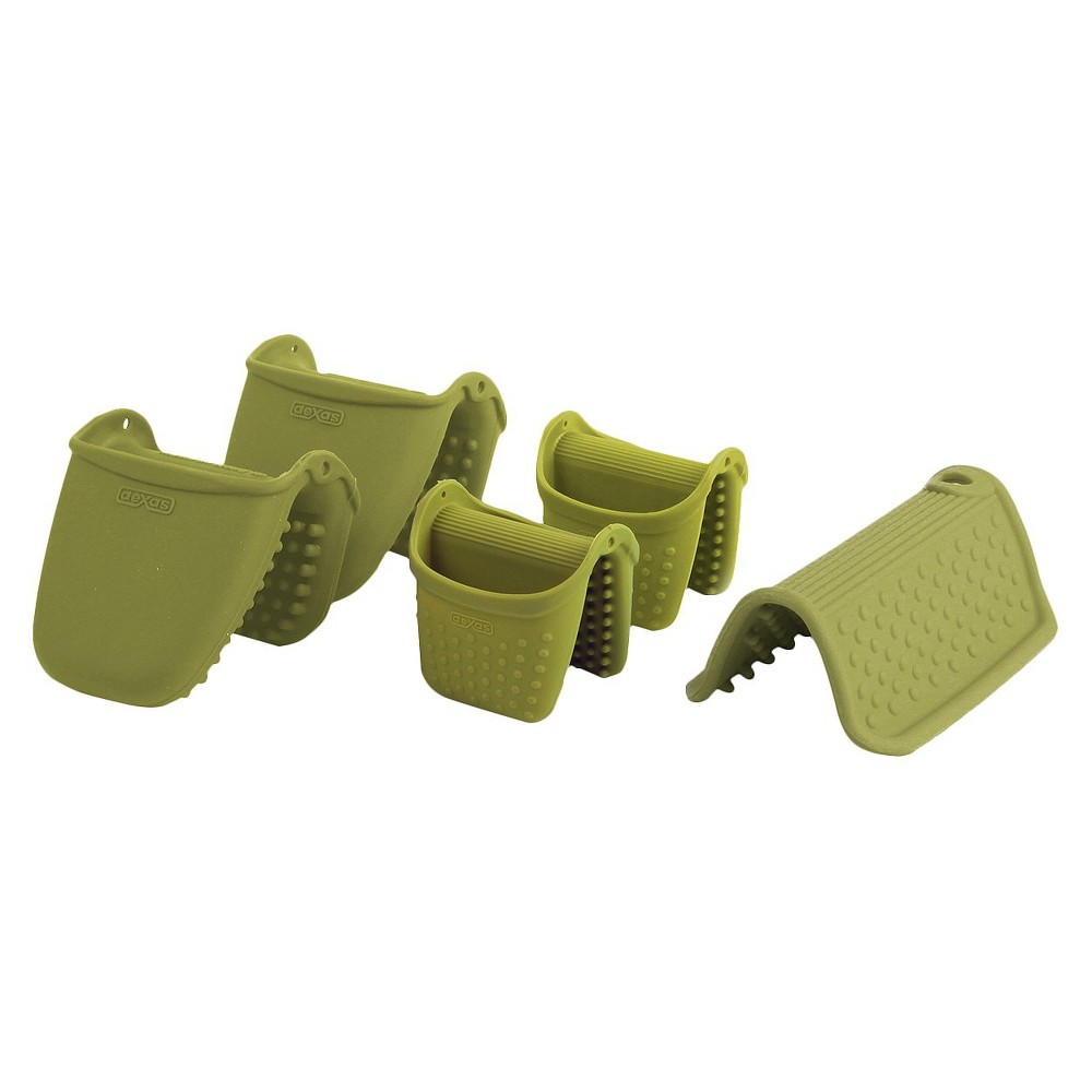 Image of Dexas Hotware Set of Five- Green
