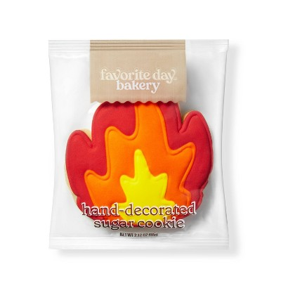 Fire Emoji Sugar Cookie - 2.12oz - Favorite Day™