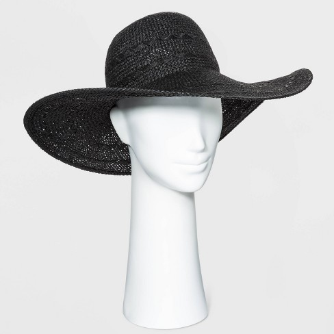 Women's Straw Floppy Hat - A New Day™ - image 1 of 1