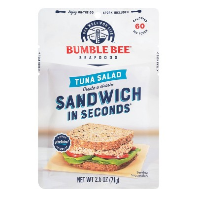 Bumble Bee Light Meat Tuna Salad Pouch with Spoon - 2.5oz