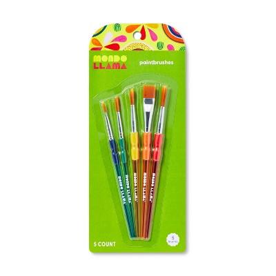 5ct Paintbrush Set - Mondo Llama™