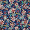 Paisley Party Chaise Lounge Outdoor Cushion Blue - Pillow Perfect - image 3 of 3