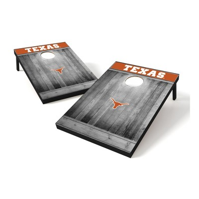 NCAA Texas Longhorns Tailgate Toss Wood College