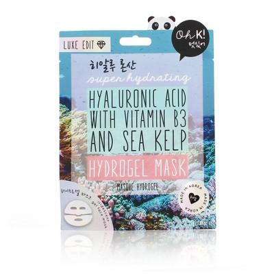 Oh K! Hyaluronic Acid Hydrogel Mask - 0.88 fl oz
