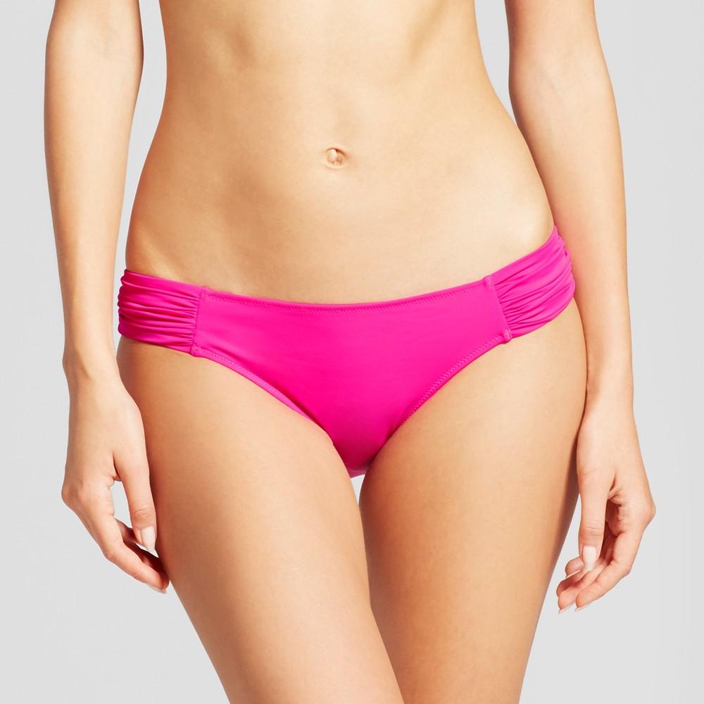 Women's Beach Hipster Bikini Bottom - Shade & Shore Hot Pink XS