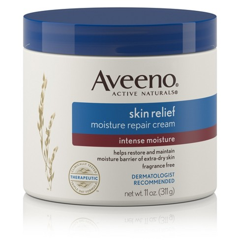 Aveeno Skin Relief Intense Moisturizing Cream, Extra-Dry Skin - 11oz - image 1 of 8