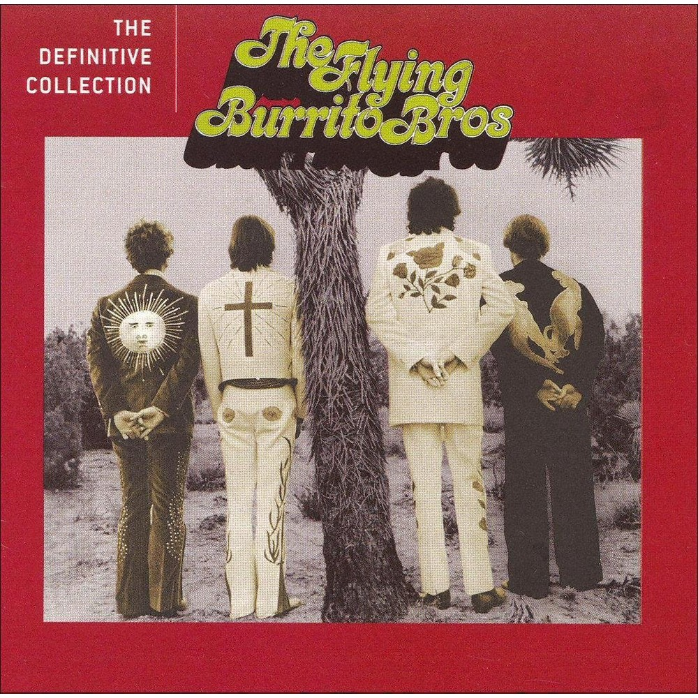 Flying Burrito Brothers The Definitive Collection Cd