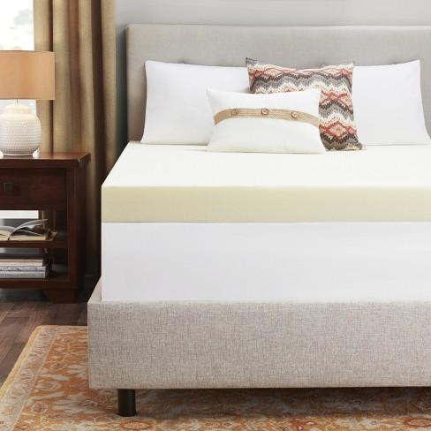 "4"" Memory Foam Mattress Topper - Sleep Studio : Target"