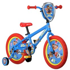 "Nickelodeon PAW Patrol All Character 16"" Kids' Bike - Red"