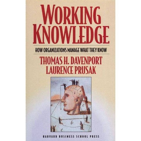 Working Knowledge - by  Thomas H Davenport & Laurence Prusak (Paperback) - image 1 of 1