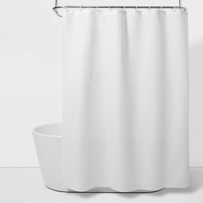Waffle Weave Shower Curtain White - Room Essentials™