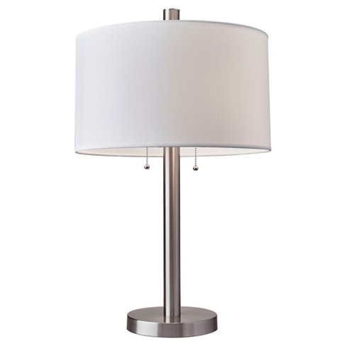 Boulevard Table Lamp Satin Steel