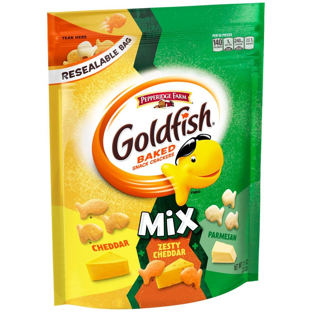 Pepperidge Farm Goldfish Three Cheese Crackers - 11oz