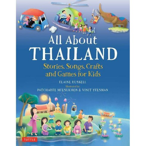 All about Thailand - by  Elaine Russell (Hardcover) - image 1 of 1