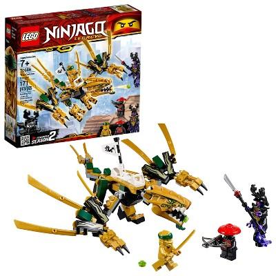LEGO Ninjago: Masters of Spinjitzu The Golden Dragon 70666