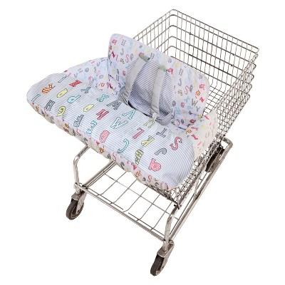 Go by Goldbug Shopping Cart Cover Novelty ABC
