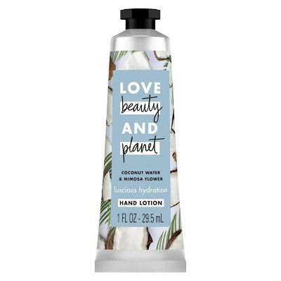 Love Beauty and Planet Coconut Water & Mimosa Flower Hand Lotion - 1 fl oz