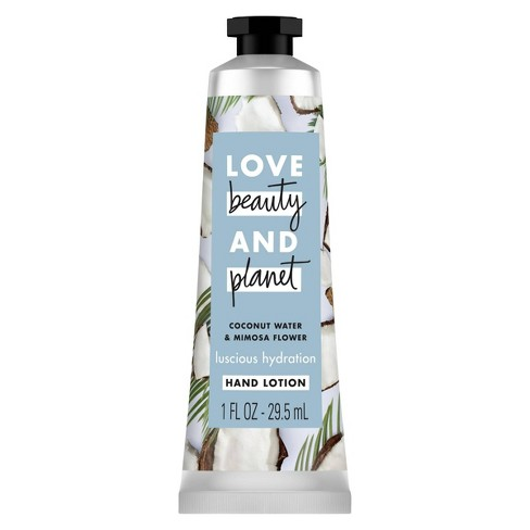 Love Beauty And Planet Coconut Water & Mimosa Flower Hand Lotion - 1 fl oz - image 1 of 4