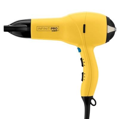 InfinitiPro by Conair Salon Professional Hair Dryer - Yellow - 1875 Watt