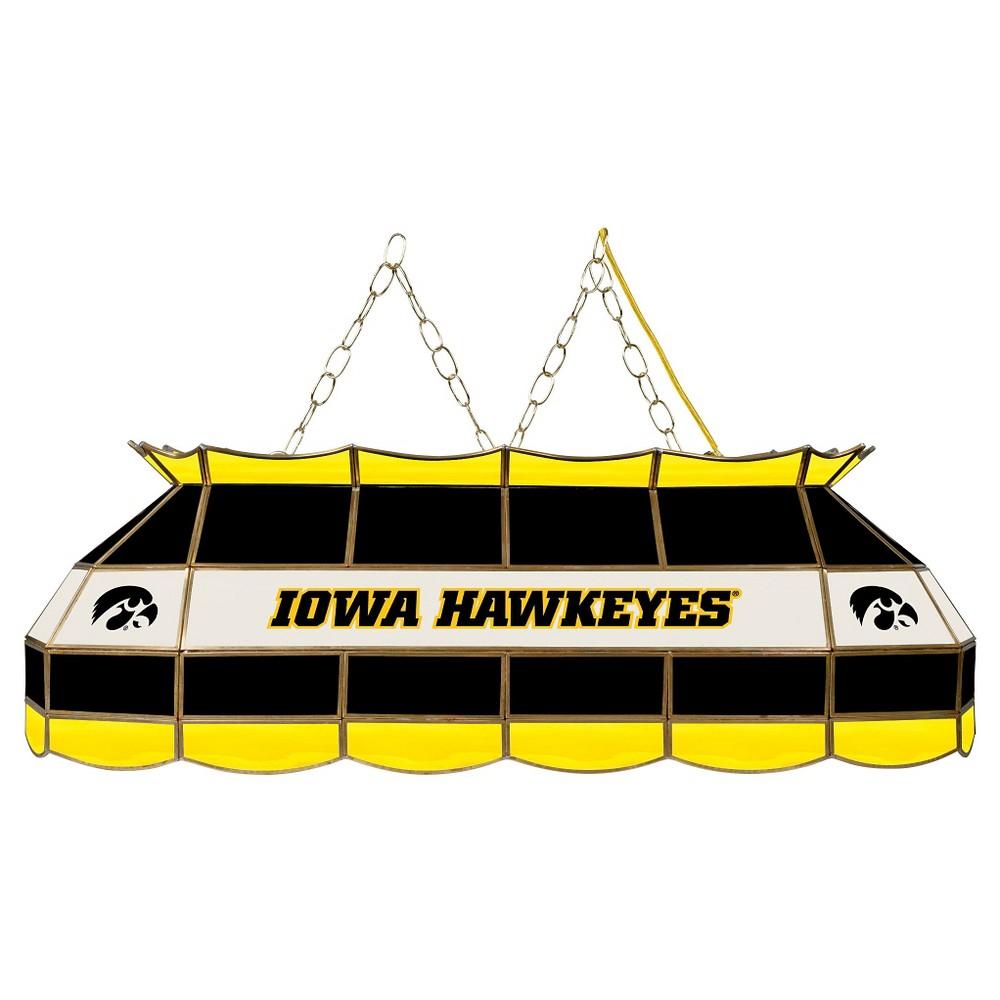 NCAA Iowa Hawkeyes Stained Glass Tiffany Lamp - 40
