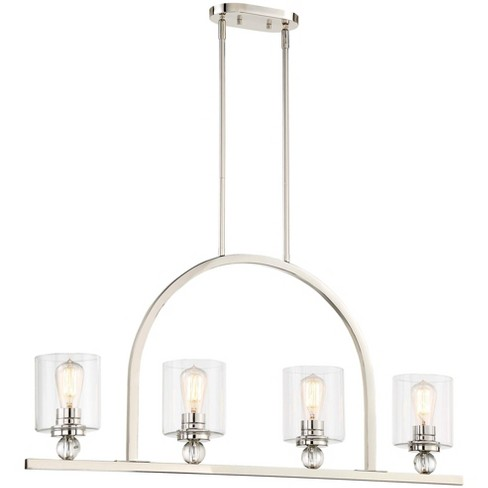"""Minka Lavery 3074-613 4 Light 38"""" Long Linear Chandelier from the Studio 5 Collection - image 1 of 1"""