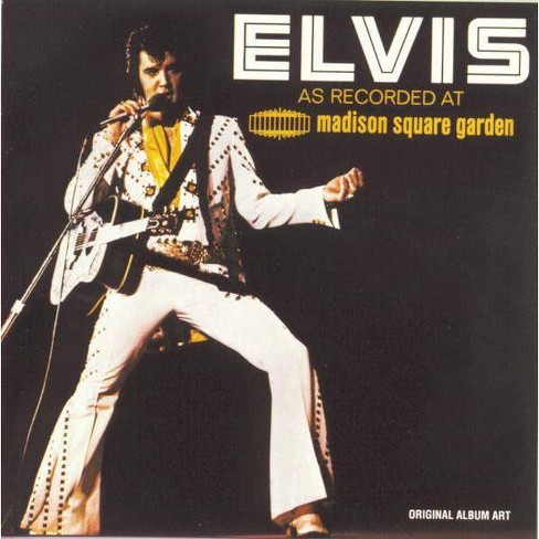 Elvis Presley - Elvis As Recorded Live at Madison Square Garden (CD) - image 1 of 1