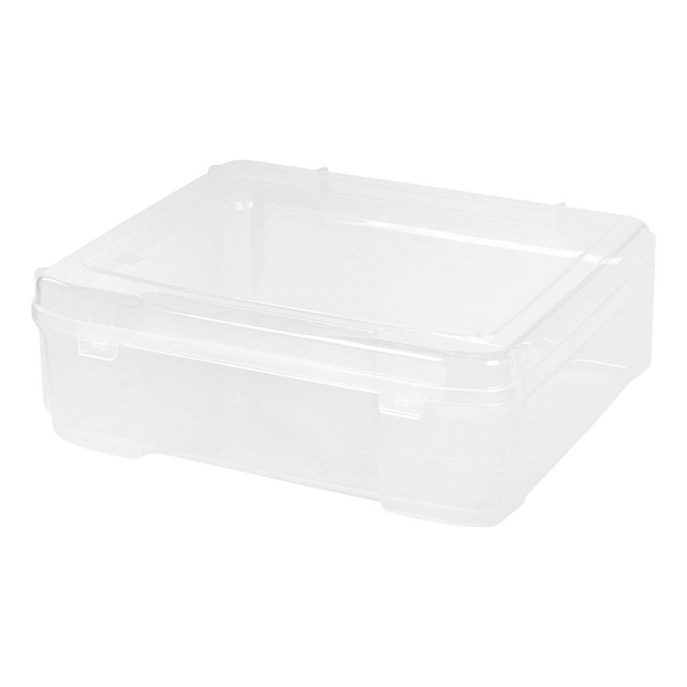 """Image of """"IRIS 4pk 14"""""""" x 14"""""""" Portable Project Case - Clear"""""""