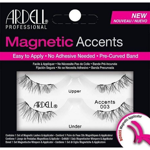 Ardell Eyelashes Magnetic Accent 003 Lash with Applicator - 1Pair - image 1 of 3