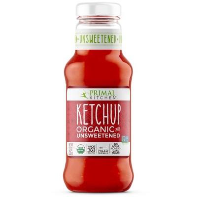 Primal Kitchen Unsweetened Organic Ketchup - 12oz