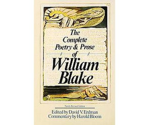 Complete Poetry and Prose of William Blake (Revised) (Paperback) - image 1 of 1